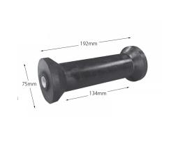 """8"""" Cotton Reel - Rubber (16mm Bore)"""