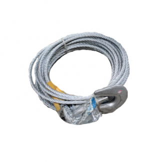 Trailer Winch - Winch Steel Cable 7.5M X 5mm