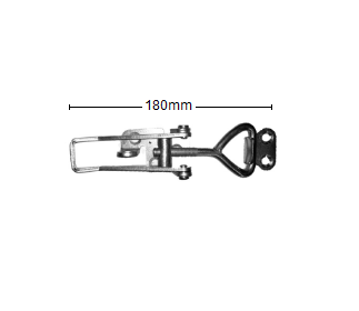 Trailer Toggle Clamp - Zinc