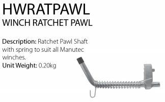Trailer Winch - Winch Ratchet Pawl