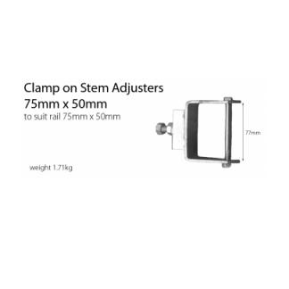 Stem Adjuster - Clamp On Bolt - 75mm x 50mm