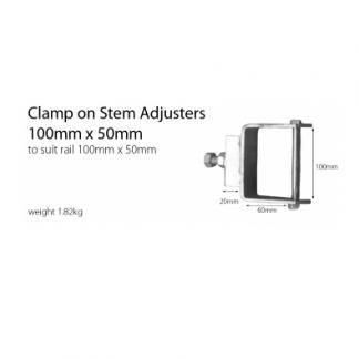 Stem Adjuster - Clamp On Bolt - 100mm x 50mm