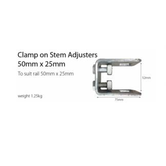 Stem Adjusters - Clamp On - 50mm x 25mm