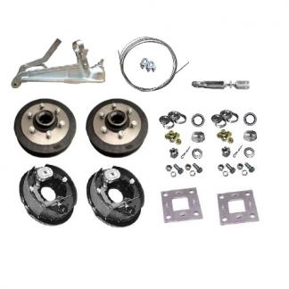 Add Electric Brakes - Electric Drum Brake Kit