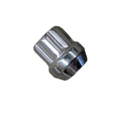 Chrome Open Spline Nut