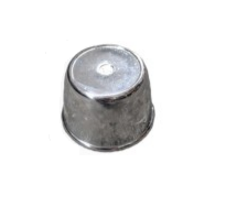 Chrome Plastic Cap (Small)