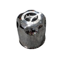 Chrome Plastic Cap (110mm)