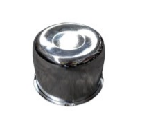 Chrome Steel Cap (110mm)
