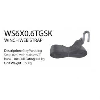 Trailer Winch - Winch Web Strap (600kg)