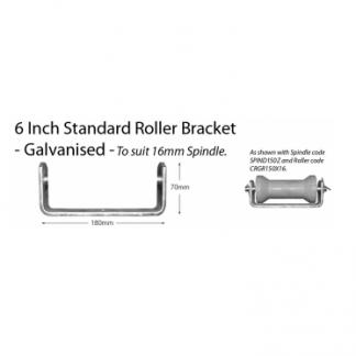 "Boat Roller Bracket - Standard - 6"""