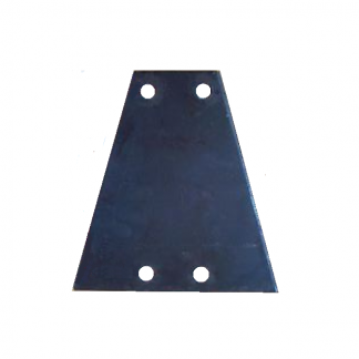 Trailer Coupling Plate (4 Hole V)