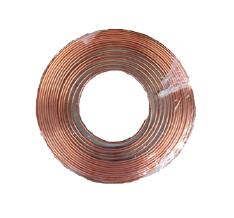 """Steel Bundy Tube (Brass Plated) 3/16"""" - Per Meter"""