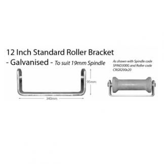 "Boat Roller Bracket - Standard - 12"""