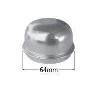 Trailer Dust Cap (Parallel / Dexter)
