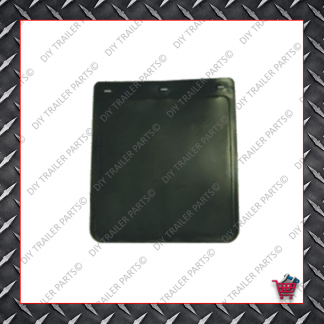 "Trailer Mud Flap - Black (9"" X 10"")"