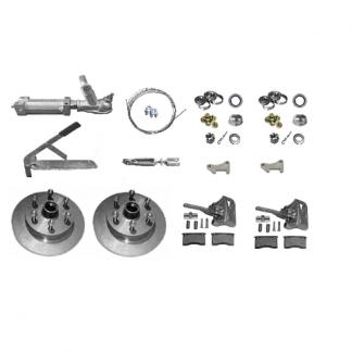 Add Disk Brakes - Override Disk Brake Kit