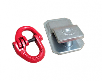 Draw Bar Chain Bracket And Clip - 3.15T