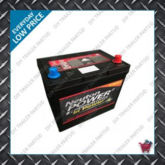 Large Car Battery - 12V 50Amp (-+)