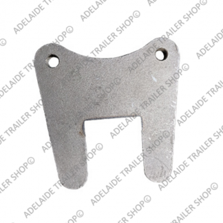 "12"" Caliper Disk Brake Mounting Plate - 50mm Square"