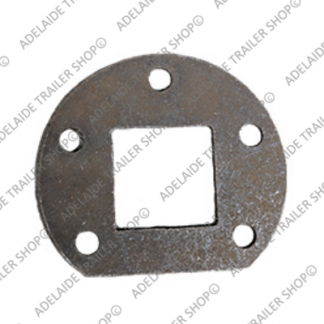 "12"" Electric/Hydraulic Brake Mounting Plate"