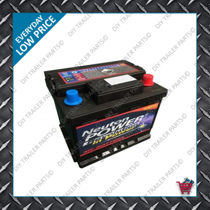 Large Euro Car Battery - 12V 66Amp