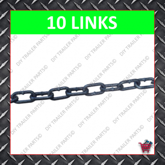Trailer Draw Bar Safety Chain 1.6T - 8mm (10 Links)