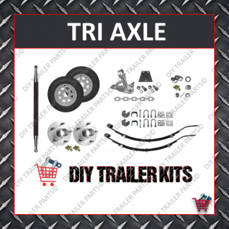 RUNNING GEAR ONLY KIT (TRIPLE AXLE)