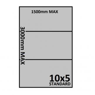 10x5 Trailer Floor - Checkerplate