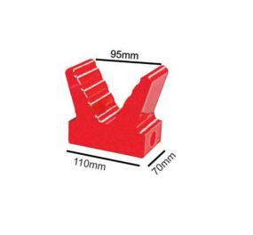 Large V Block - Soft Poly (20mm Bore)
