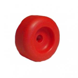 End Cap - Soft Poly (18mm Bore)
