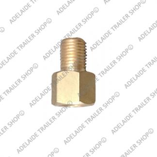 "Brass Hydraulic Union 3/8"" 24TPI"