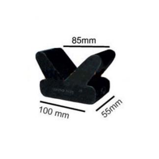 """4"""" V Block - Rubber (15mm Bore)"""