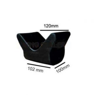 Large V Block - Rubber (12mm Bore)