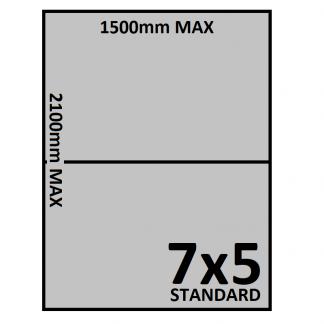 7x5 Trailer Floor - Checkerplate