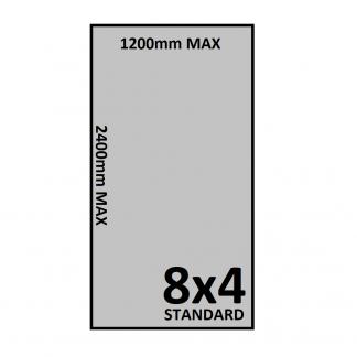 8x4 Trailer Floor - Checkerplate