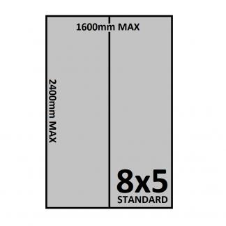 8x5 Trailer Floor - Checkerplate