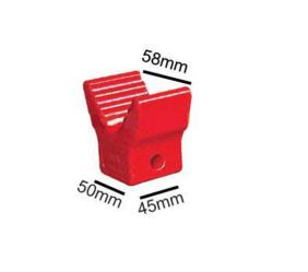 "2"" V Block - Soft Poly (12mm Bore)"