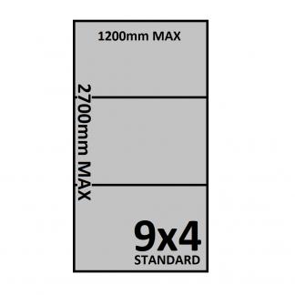 9x5 Trailer Floor - Checkerplate