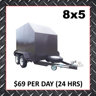 8x5 Enclosed Trailer Hire