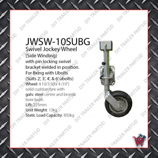 Standard Jockey Wheel (Galvanised) JW1UBG
