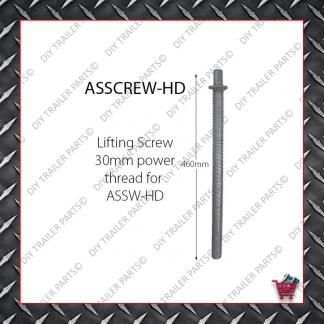 Adjustable Leg 500mm - Metric Thread - Front