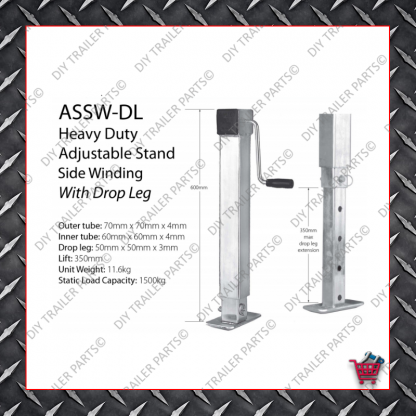 Adjustable Jack Stand - ASSW-DL
