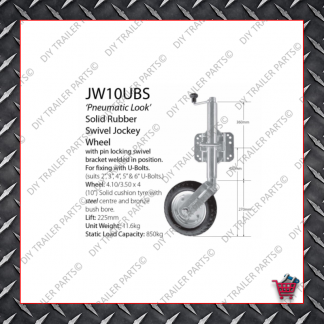 Economy Jockey Wheel (Incl. Clamp) JW1E