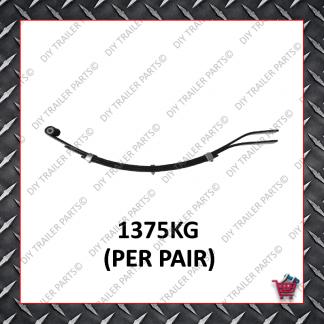 Slipper Spring - 45mm Wide - 6mm - 765mm (3 Leaf)