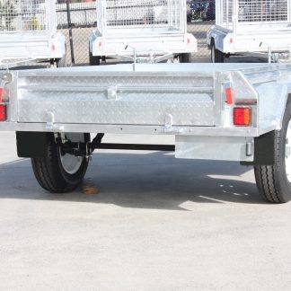 7x5 Box Trailer - Single Axle - Galvanised