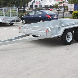 8x5 Box Trailer - Tandem Axle - Galvanised
