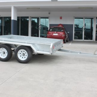 10x5 Box Trailer - Tandem Axle - Galvanised