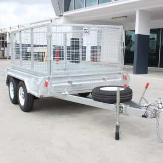 6x4 Cage Trailer - Single Axle - Galvanised