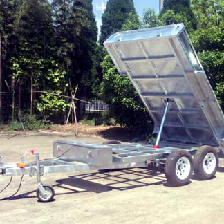 8x5 Box Tipper Trailer - 1990kg - Galvanised