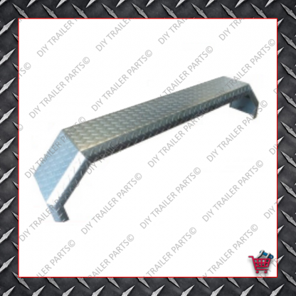 """Trailer Mud Guard - Single Axle - Smooth (Suits 13"""" to 14"""")"""